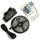 Bright 12V 5M 16.4ft 5050 RGB Waterproof SMD 300 LED Flexible Strip light USA