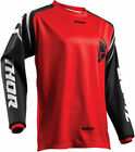 Thor Mens Red/Black Sector Zones Dirt Bike Jersey MX ATV 2019