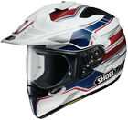 Shoei Adult Blue/Red/White Hornet X2 Navigate TC-2 Motorcycle Helmet