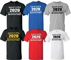 2020 Graduate Class of Tshirt, Virus Shirt,Quarantined Shirt Senior Tshirt S-4XL image