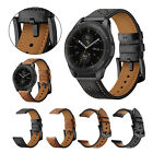 For Samsung Galaxy Gear S3 Frontier 46mm Leather Replacement Wrist Band Bracelet
