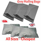 Grey Mailing Bags 22 X 30 (560mm x 760mm) Postage Mail Poly Plastic Postal Post