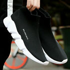 Womens Mens Elastic Sock Trainers Breathable Comfort  Running SIZE Shoes STOCK