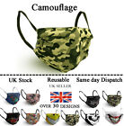 Cotton Face Mask, Reusable,Washable, three layers,Fashion Designs, UNISEX Adult  <br/> UK SELLER  TOP QUALITY  SAME DAY  SHIPPING