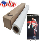 Professional Curl-Free Fabric Banner - White Back -Great for Water-Based Ink