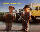 You Been Trucking Long Picture Print Children Infants Cabin Matted/Unmatted Truc
