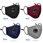 Reusable Facemask Respirator Cover+ 2x PM 2.5 Filter Ships from USA