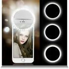 For IPhone Mobile Phone Selfie Portable Luxury LED Camera Ring Flash Fill Light