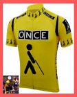 Maillot Once Cycliste Retro Vintage Classic Cyclism Jalabert Tour de France