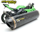 Two Brothers V.A.L.E. Full Exhaust M-2 Carbon Can 2008-2010 Kawasaki ZX-10R