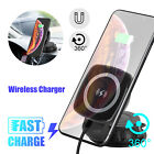 Car Wireless Magnetic Charger Mount Holder Fast Charging For iPhoneXS/SamsungS9
