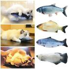 Simulation Fish Toy Catnip Cat Chew Wagging Electric Jumping Practical Toys 30cm