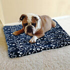 1* Pet Dog Bed Kennel Cushion Mat Crate Cage Pad Comfortable Outdoor Durable