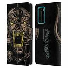 OFFICIAL MOTORHEAD GRAPHICS LEATHER BOOK WALLET CASE COVER FOR HUAWEI PHONES