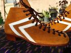 Vintage Riedell 65S IFO Invader Force One  Roller Skate Boot Men's Size 3, 4, 5