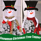 Snowman Christmas Tree Hugger Topper Top Of The Tree With Arm Party