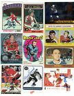 Autographed Hockey cards Hall of Fame Stars some Certified 85+ Picks Lot #2