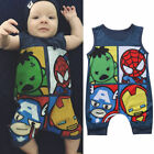 FixedPricecute newborn baby boy girls avengers romper jumpsuit bodysuit clothes outfits