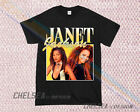Inspired By Janet Jackson T-shirt Merch Tour Limited Vintage Rare Gildan 1r image