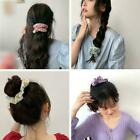 Girls Elastic Hair Rope Flower Pattern Scrunchie Colorful Casual Hairband M4d4