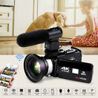 Full HD 1080P 16X ZOOM Digital WiFi Video Camera DV Camcorder  Lens Microphone