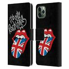 OFFICIAL THE ROLLING STONES ALBUMS LEATHER BOOK CASE FOR APPLE iPHONE PHONES