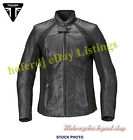 Triumph MLLC17102 Women's Ladies Leather Motorcycle Cara Jacket €353.08 EUR on eBay