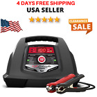 Schumacher 6/12V Fully Automatic Battery Charger 30/100A w/ Diagnostic Testing
