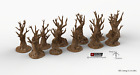 Gnarly, Wildwood, and Skull Tree Set - Winterdale Wargaming Terrain D&D DnD