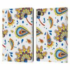 OFFICIAL HAROULITA CUTE FLOWER PATTERN LEATHER BOOK WALLET CASE FOR APPLE iPAD