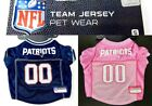 New England Patriots Jersey for Your Small Dog NFL Football Choose Pink or Blue $23.18 USD on eBay