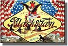 Anheuser-Busch Black and Tan Beer Vintage Picture on Stretched Canvas, Wall Art