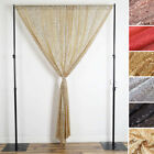 Sequined 4.5 feet x 9 feet Drapes Curtains 2 Panels Home Decor Party Wedding