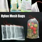 100pcs Garden Plant Fruit Protect Drawstring Net Bags Insect Bird Against O1u4