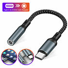 Type C Port to 3.5mm AUX Adapter USB-C Audio Jack Earphone Headphone For Samsung