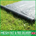 Heavy Duty Weed Control Landscape Fabric 1m & 2m Wide Rolls - 100gsm Woven Cover