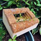 Dispenser Raw Wooden Grass Feeder Small Animal Pet Rabbit Food Container Bowl
