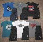 Air Jordan Set Boy's Shirt Shorts Size 6 Pick A Set
