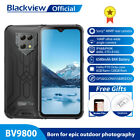 6.3in Rugged Mobile Smart Phone Blackview Bv9800 128gb 4g Unlocked Android Ip68