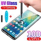 2xSamsung Galaxy S20/ Ultra/ Plus Liquid Screen Protector UV Glue Tempered Glass