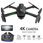SG906 PRO GPS RC Drone with Camera 4K 5G Wifi 2axis Gimbal Quadcopter +Bag T8Y6