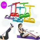 Sit-up Rope Yoga Resistance Pedal Exerciser Hand Foot Elastic Workout US Stock image