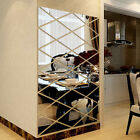 Diy 3d Stickers Full Body Mirror Wall Sticker Acrylic Decal Home Room  Decor