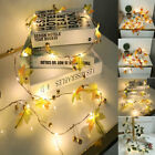 20LED Fairy String Lights Garland Maple Leaves Lights Thanks Giving Xmas Party