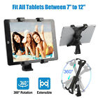 "Tablet Tripod Mount Adapter Flexible Adjustable Clamp Holder For 7-10"" iPad Tab"