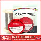 Ni80 Nichrome (NiCr 80/20) Resistance Wire By The Crazy Wire Company
