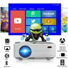 Android LED Projector Home Theater Party Video Blue-tooth HDMI USB PS4 Miracast
