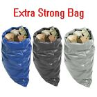 EXTRA HEAVY DUTY BLACK RUBBLE BAGS SACKS BUILDERS BAGS HIGH STRENGTH 30kg+