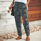 Women Camo Cargo Joggers Trousers Jogging Tracksuit Bottoms Loungewear Gym Pants