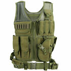 Tactical Vest Military Gun Holder Molle Police Airsoft Combat Assault Gear